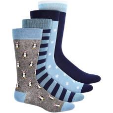 Bar III Mens 4-Pk. Dress Socks