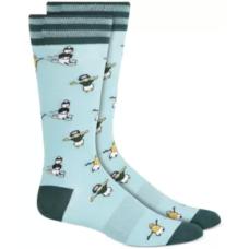 Bar Iii Men's Holiday Socks (10-13)