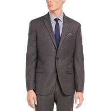 Bar III Men's Slim-Fit Gray Flannel Suit Separate Jacket (Gray,38 R)