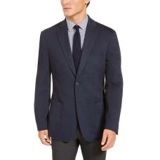 Bar III Men's Slim-Fit Navy Blue Knit Sport Coats