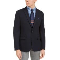 Bar III Men's Slim-Fit Navy Solid Blazer