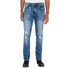 Buffalo David Bitton Men's Slim Fit Ash-X Jeans (Denim Blue, 34X30)