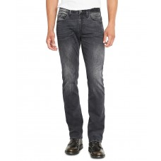 Buffalo David Bitton Men's Straight Fit Six-X Jeans (Black, 32×32)