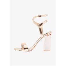 Call It Spring Ocalide Ankle Strap Block Heel Sandals, (Light Pink, 7)