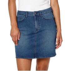 Calvin Klein Ladies' Denim Skirt (Moonlight Dusk, 10)