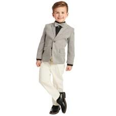 Calvin Klein Little Boys 4-Pc. Bold Dobby Suit Sets