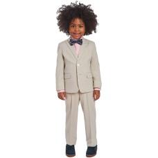 Calvin Klein Little Boys 4-Pc. Heather Suit Sets