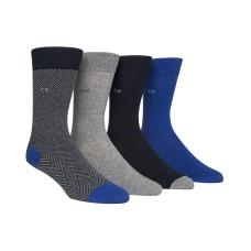 Calvin Klein Men's Dress Socks (4 pk, Assorted)