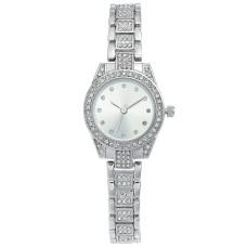 Charter Club Women's Crystal Silver-Tone Bracelet Watch (27mm)