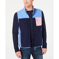 Club Room Men's Colorblocked Fleece Vest XL