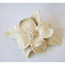 Darling Dogwood Flower Ivory fine porcelain Figurine by Lenox