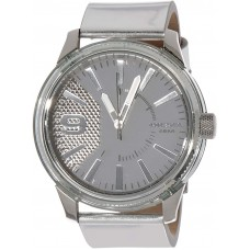 Diesel Men's Rasp Watch Mineral Crystal DZ1874 (Silver)