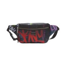 DKNY Gigi Graffiti Logo Belt Bag