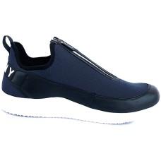 DKNY Mens SEB Leather/Textile High Top Zipper