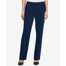 DKNY Women's Fixed Waist Bootcut Pants (Navy, 14)
