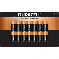 Duracell C Alkaline Batteries, 14-count