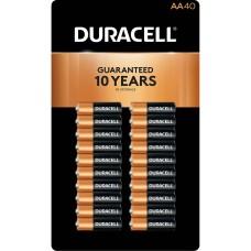 Duracell CopperTop AA Alkaline Batteries – 40 count