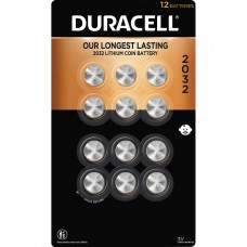 Duracell Lithium 2032 Coin Batteries, 12-count