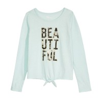 Epic Threads Big Girls Beautiful T-Shirts, Turqouise, X-Large