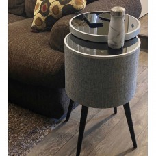 Epsilon Soundstream Sound Table 2.1 CH 5 Speaker System Tempered Glass Top