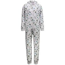 Family Pajamas Matching Men's Festive Trees Hooded Pajama Set
