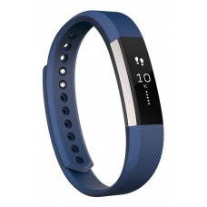 Fitbit Alta Classic Accessory Band, Navy, Large