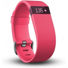 Fitbit Charge Hr Wireless Activity Wristband (Pink, Large)