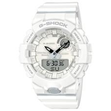 G-Shock Men's Analog-Digital Resin Strap Step Tracker Watch, White 48.6mm