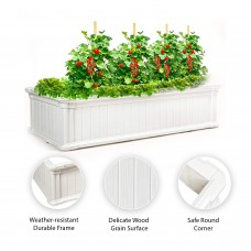 Garden Essentials Raised Garden Bed Vegetables & Flower Box Planter for Patio Backyard