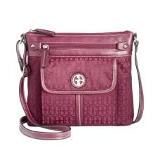 Giani Bernini Annabelle Signature Crossbody Handbag, Red