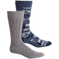 Gold Toe Men's 2-Pk. Camo Socks (Blue-Gray)