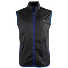 Greg Norman Men's Colton Zip-Front Vest Deep Black XXL