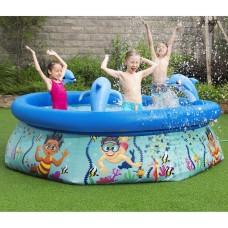 H2OGO! Underwater Oasis Spray Pool 8 ft.