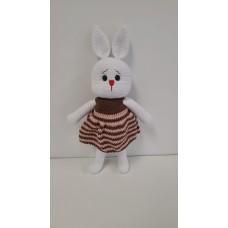 Handmade Amigurumi Rabbit Toy Buddy Bunny Easter Bunny Doll For Kids Unicex