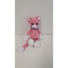 Handmade Amigurumi Wool Cute Fox Toy Plush Stuffed Animal Doll Kids Toy