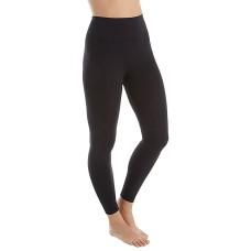 Hanes Women's Perfect Bodywear Seamless Legging with ComfortFlex Waistband (Black, Large)