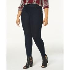 Hue Plus Size Original Denim Leggings (Dark Blue)