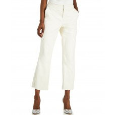 Inc International Concepts Faux-leather Culotte Pants (White)