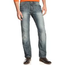 INC International Concepts INC Stretch Slim Straight Jeans Medium Wash 30×30