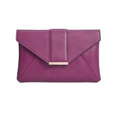 INC International Concepts Luci Envelope Clutch Bag, Purple
