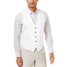 INC International Concepts Men's Linen Blend Vests