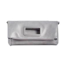 INC International Concepts Open Handle Clutch Crossbody Bag, Gray
