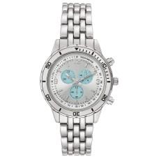 INC International Concepts Women's Silver-Tone Bracelet Watch (Gray)