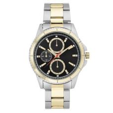 INC Men's Two-Tone Bracelet Watch 44mm