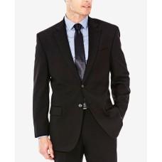 J.M. Men's Classic/Regular Fit Stretch Sharkskin Suit Jacket