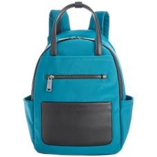 Kenneth Cole New York Delancey Tech Backpack Handbag, Turqouise
