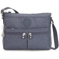 Kipling New Angie Crossbody Handbag, Navy Blue G Twist