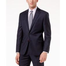 Lauren Ralph Lauren Men's Navy Plaid Suit Separates