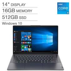 Lenovo IdeaPad 5 14″ Laptop – 11th Gen Intel Core i5-1135G7 (Model: 82FE00MEUS)