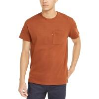 Levi's Men's Heavyweight Pocket T-Shirt, Brown, X-Large